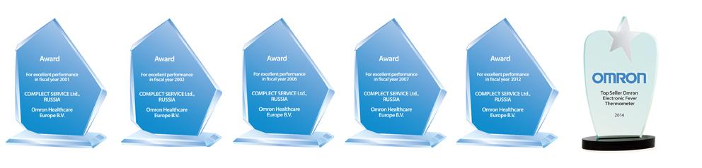 КомплектСервис - лучший дилер OMRON Healthcare в Европе